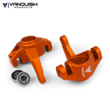Axial Yeti / EXO Steering Knuckles Orange Anodized