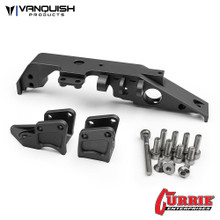 Wraith Currie Truss/Link Mounts Front Grey Anodized