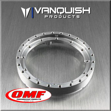 OMF 2.2 Front Ring Clear Anodized