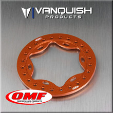 OMF 2.2 Scallop Beadlock Orange Anodized