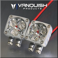 Rigid Industries Q-Series LED Lights Clear Anodized