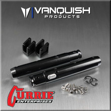 Wraith/Yeti Currie Centered Pumpkin Rear Tubes Black Anodized