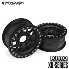 KMC 1.9 XD127 Bully Black Anodized