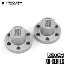 Center Hubs XD Series Clear Anodized
