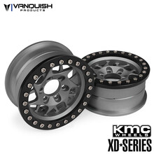 KMC 1.9 XD127 Bully Grey Anodized