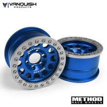 Method 1.9 Race Wheel 105 Blue/Clear Anodized