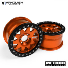 "Method 2.2 Race Wheel (1.2"" Wide) 101 Orange/Black Anodized"