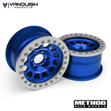 "Method 2.2 Race Wheel (1.2"" Wide) 105 Blue/Clear Anodized"