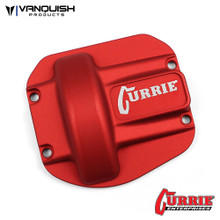 Currie RockJock Ascender Diff Cover Red Anodized