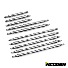 Incision TRX-4 Stainless Steel 10pc Link Kit - Stock Wheelbase (Non Sport Models)