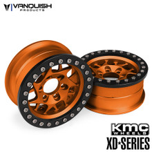 KMC 1.9 XD127 Bully Orange Anodized