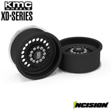 Incision KMC 1.9 XD136 Panzer Black Anodized