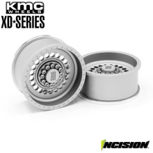 Incision KMC 1.9 XD136 Panzer Clear Anodized