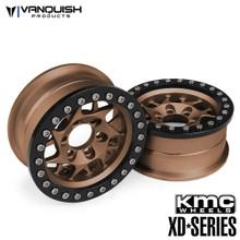 KMC 1.9 XD127 Bully Bronze Anodized