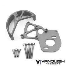 VS4-10 Motor Mount / Gear Guard Grey Anodized