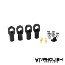 Machined Rod Ends Black - Straight M4