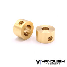 Brass Rear Axle Cap Weights