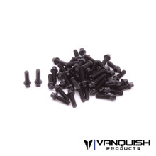 Hex Scale Black Wheel Screw Kit