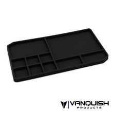 Rubber Parts Tray - Black