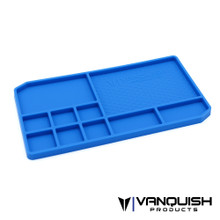 Rubber Parts Tray - Blue