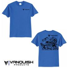 Vanquish Products VS4-10 Origin Shirt - Blue