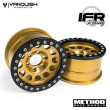 Method 1.9 Race Wheel 105 Gold Anodized