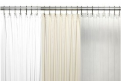 Stall Size Vinyl Shower Curtain Liner