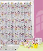 Fairy Princesses Shower Curtain Bath Accessories