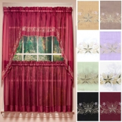 Kitchen Curtains   Tiers   Swags   Valances   Lace Kitchen ...
