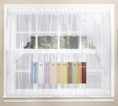 Kitchen Curtains | Tiers | Swags | Valances | Lace Kitchen ...