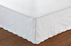 "Paisley Bedskirt King - 18"" DROP"