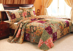 Antique Chic Quilt SET- Full/Queen