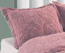 Ashton Pillow Sham - Rose
