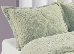 Ashton Pillow Sham - Sage