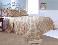 Belmont Bedspread Queen - NATURAL