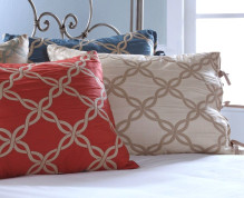 Belmont Pillow Sham - CORAL