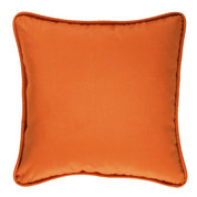 Cozumel Square Throw Pillow - Ginger