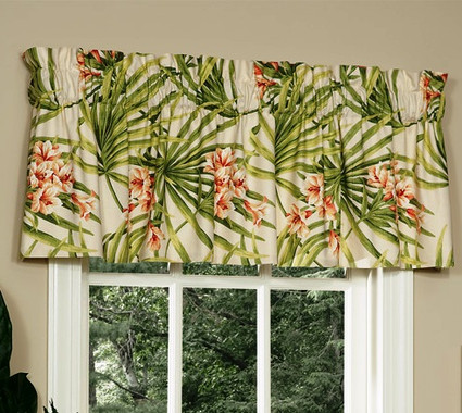 Cozumel Tailored Valance