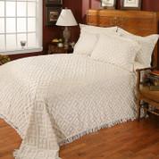 Diamond Chenille Bedspread FULL Size