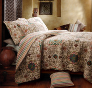 Esprit Spice Quilt Set - Full/queen