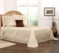 Gardenia Bedspread Twin - Beige