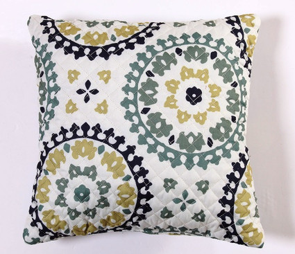 Melina Throw Pillow - Spa