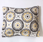 Melina Pillow Sham - Charcoal