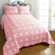Rosa Bedspread Twin - Pink