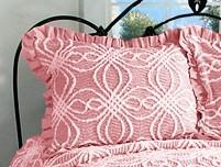 Rosa Pillow Sham - Pink