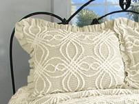 Rosa Pillow Sham - Natural