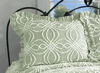Rosa Pillow Sham - Sage