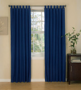 "American Denim - Tab Top Curtain (pair) 84"" long"