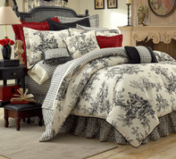 Bouvier - Square Euro SHAM - Red