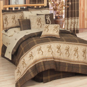 Browning Buckmark - 4pc Queen Comforter Set
